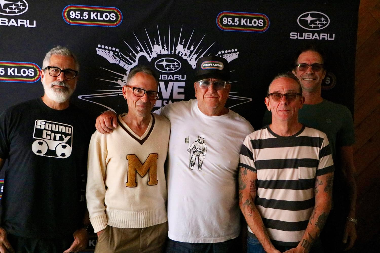 Bad Religion on the KLOS Subaru Live Stage with Jonesy's Jukebox