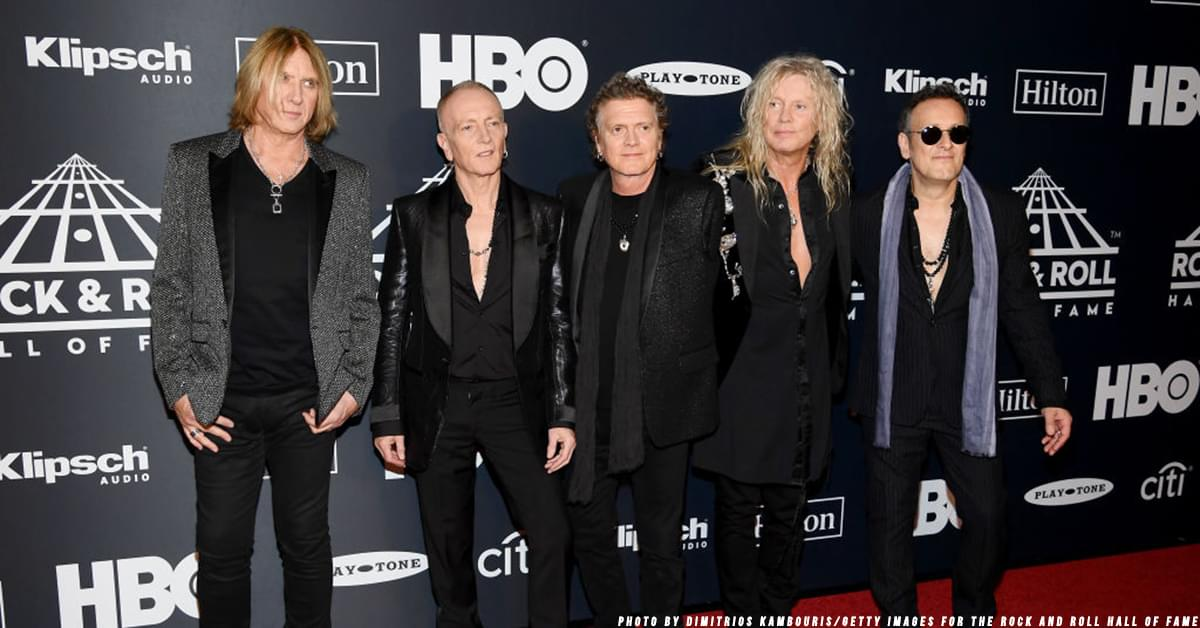 Def Leppard Releases Behind-the-Scenes Clip of Their Vegas Residency