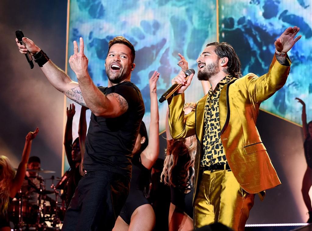 Maluma y Ricky Martin calientan las cosas