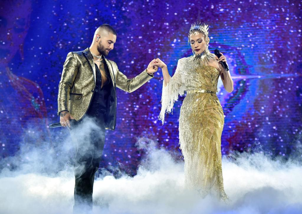 Maluma brings out Jennifer Lopez at Madison Square Garden