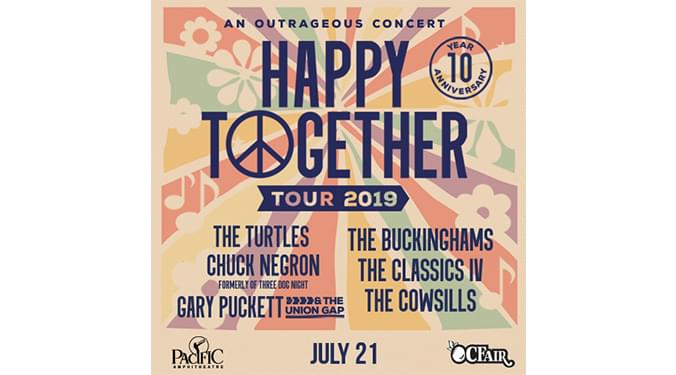Happy Together 2019 Tour