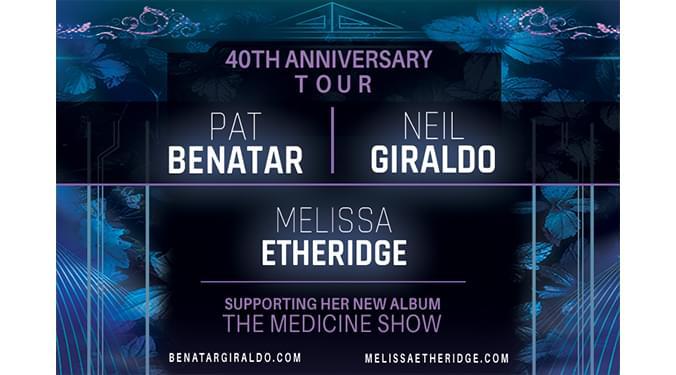 Pat Benatar & Neil Giraldo with Melissa Etheridge