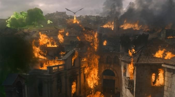 Game of Thrones Final Season-Up In Flames | Donna D |