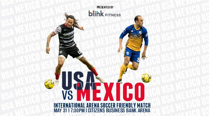 USA vs Mexico Indoor Soccer Game