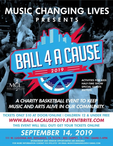9/14/19 BALL 4 A CAUSE/ MUSIC CHANGING LIVES