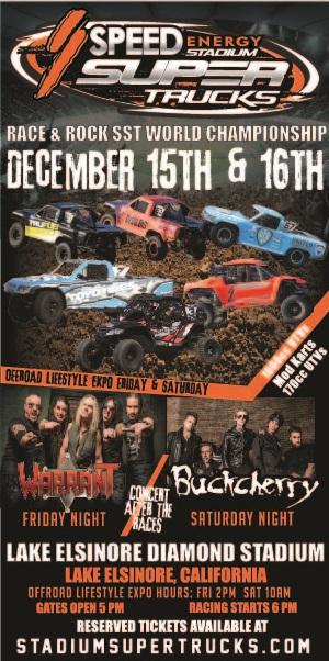 Stadium Super Trucks and Buckcherry!