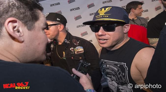 (LISTEN) Atreyu Dan Jacobs talks to Mike Z-Wired In The Empire
