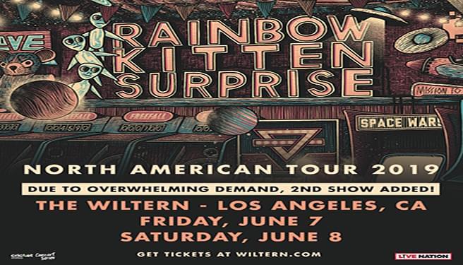 Rainbow Kitten Surprise Tickets at The Wiltern