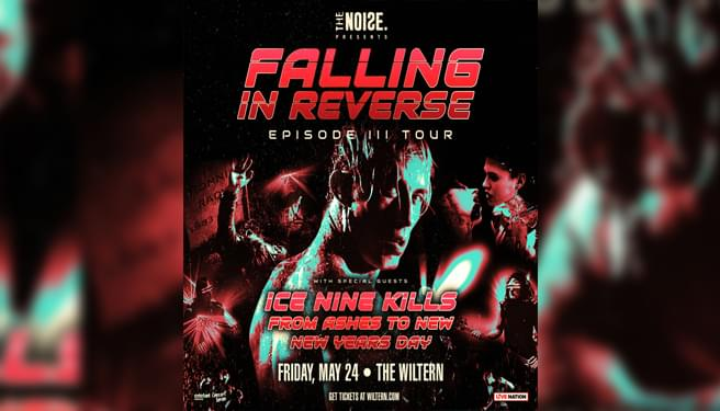 Falling In Reverse May 24th at the Wiltern