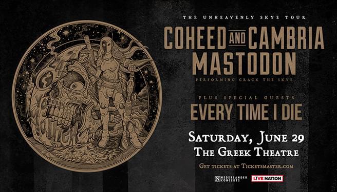 Coheed and Cambria & Mastodon