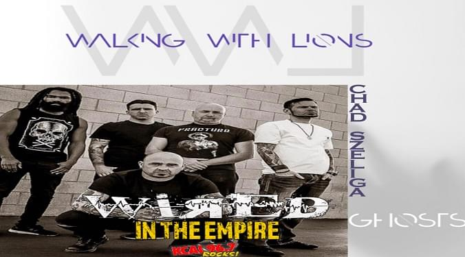 Walking With Lions drummer Chad Szeliga talks to Mike Z-Wired In The Empire