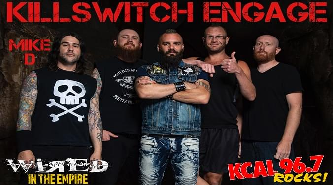(LISTEN) Killswitch Engage bassist Mike D talks to Mike Z-Wired In The Empire