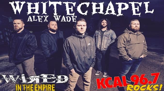 (LISTEN) Whitechapel guitarist Alex Wade talks to Mike Z-Wired In The Empire