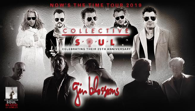 Collective Soul & Gin Blossom NOW'S THE TIME TOUR