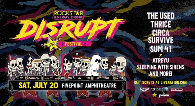 Rockstar Energy Drink DISRUPT Festival