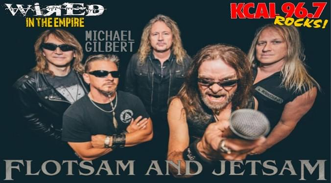 (LISTEN) Flotsam And Jetsam guitarist Michael Gilbert talk to Mike Z-Wired In The Empire