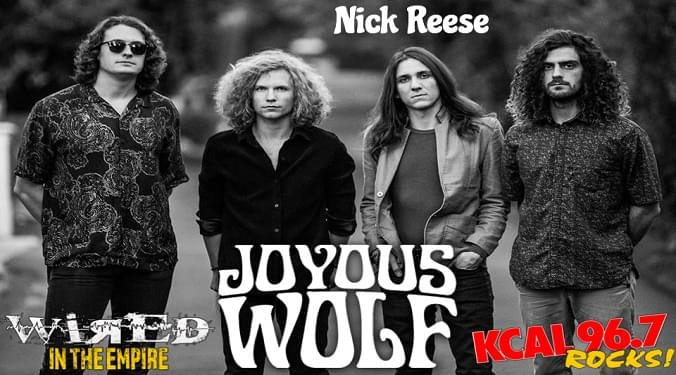 (LISTEN) Joyous Wolf singer Nick Reese talks to Mike Z-Wired In The Empire