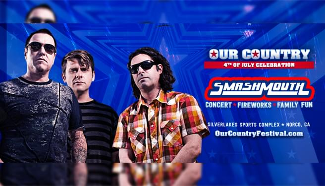 Our Country 4th Of July Celebration featuring Smash Mouth