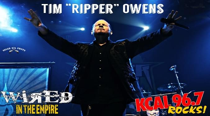 "(LISTEN) Tim ""Ripper"" Owens talks Dio Hologram tour with Mike Z-Wired In The Empire"