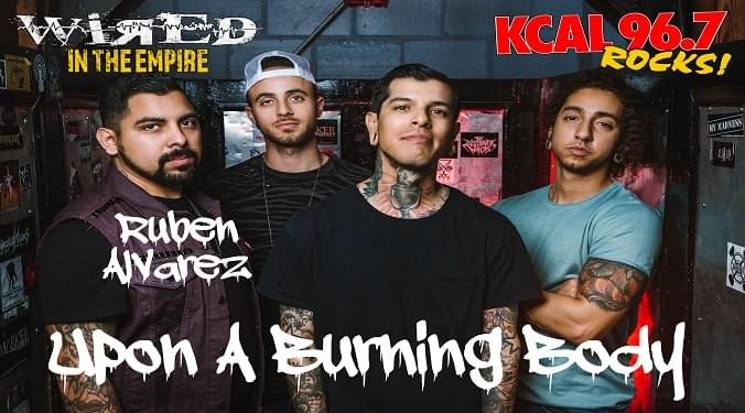 (LISTEN) Upon A Burning Body guitarist Ruben Alvarez talks to Mike Z-Wired In The Empire