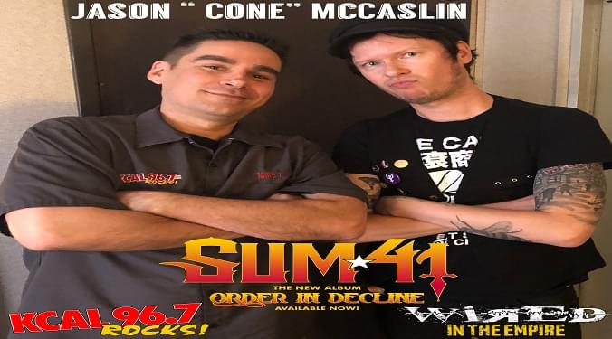 (LISTEN) Sum 41's bassist Cone talks to Mike Z-Wired In The Empire