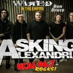 (LISTEN) Asking Alexandria guitarist Ben Bruce talks to Mike Z-Wired In The Empire