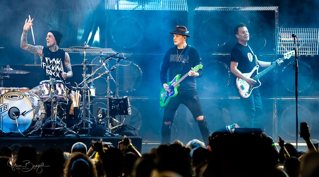 Blink-182 at FivePoint Amphitheatre