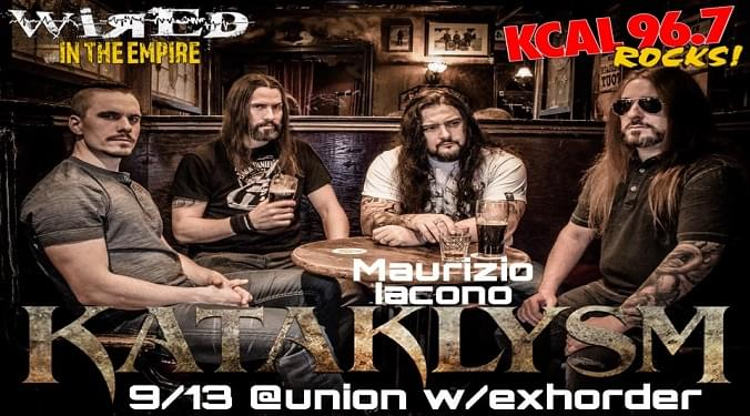 (LISTEN) Kataklysm singer Maurizio Iacono talks to Mike Z-Wired In The Empire