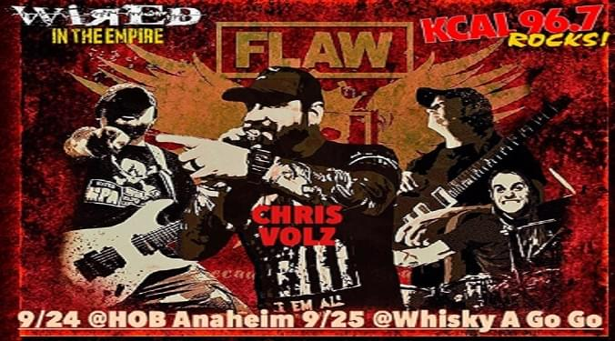 (LISTEN) Flaw singer Chris Volz talks to Mike Z-Wired In The Empire