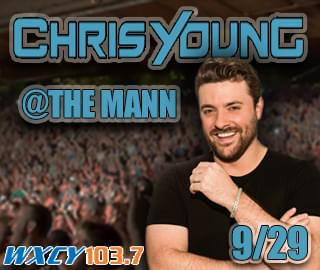 Chris Young at The Mann, Philly 9/29
