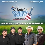 Citadel Country Spirit USA 8/24-8/26