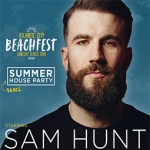 Sam Hunt & Kane Brown @ AC Beachfest 7/1