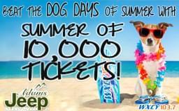 Summer of 10,000 Tickets!