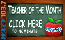 Teacher of the Month!