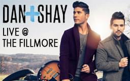 Dan + Shay @ Fillmore!