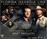 Florida Georgia Line @ BB&T Pavilion 7/13