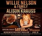 Willie Nelson & Alison Krauss at Merriweather Post Pavilion 6/19
