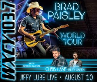 Brad Paisley Jiffy Lube Live Featured