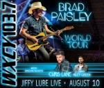 Brad Paisley @ Jiffy Lube Live 8/10