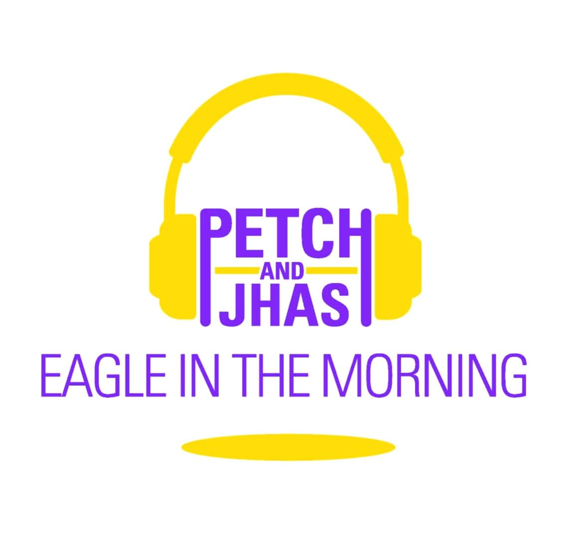 Eagle in the Morning With Petch and Jhas