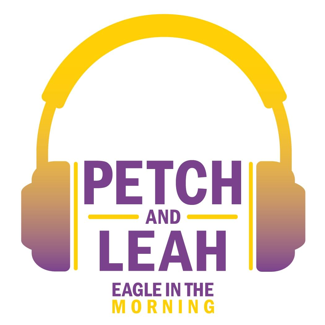 Eagle in the Morning With Petch and Leah