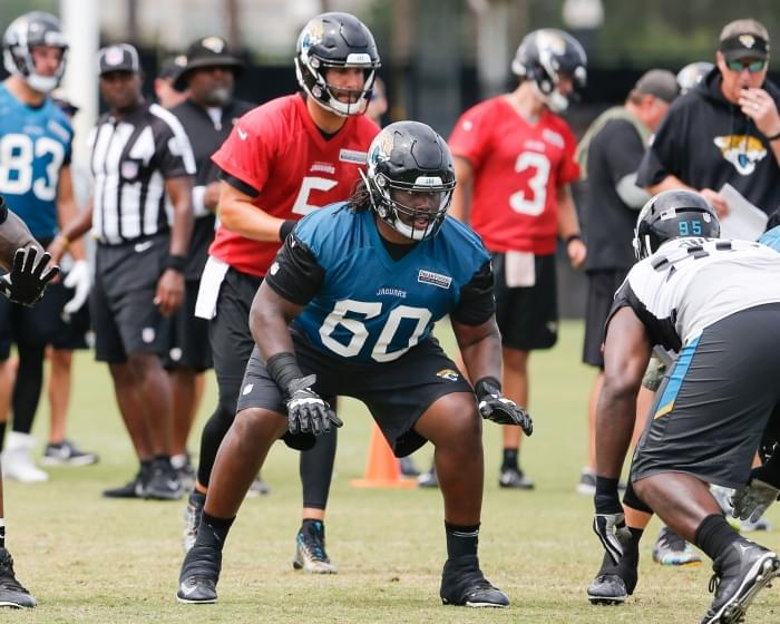 New helmet rule helping Jags right guard A.J. Cann improve