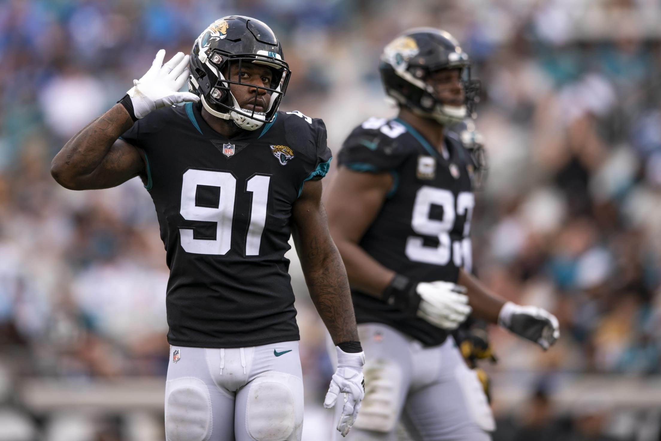 Jaguars win battle, but could lose war against DE Yannick Ngakoue