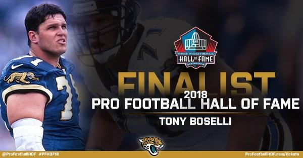 Willie Roaf advocates for Tony Boselli's Hall of Fame candidacy