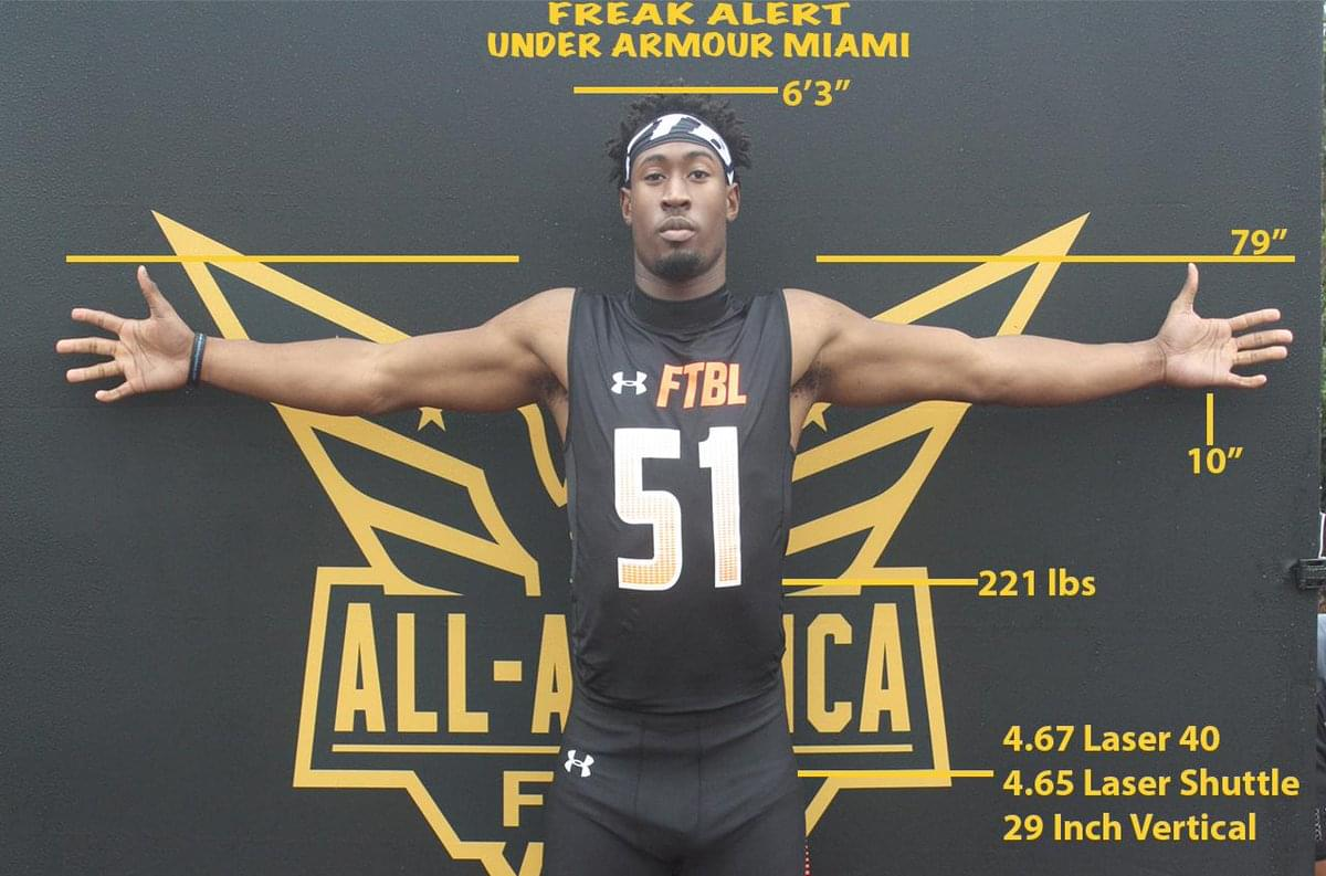 Oakleaf 4-star DE Chantz Williams narrows list of schools to five