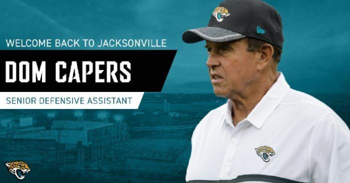 Jaguars hire Dom Capers as senior defensive assistant