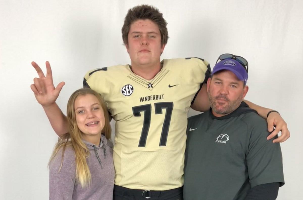 Fletcher's Bradley Ashmore discusses Vanderbilt commitment