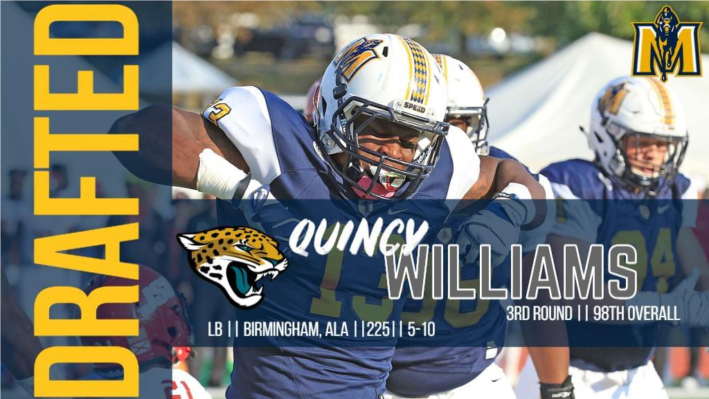 Quincy Williams' college coach surprised by his selection in 3rd round