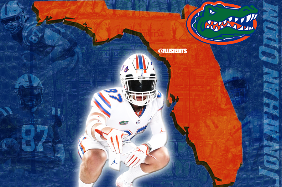 Gators add two weekend recruits including legacy TE Jonathan Odom