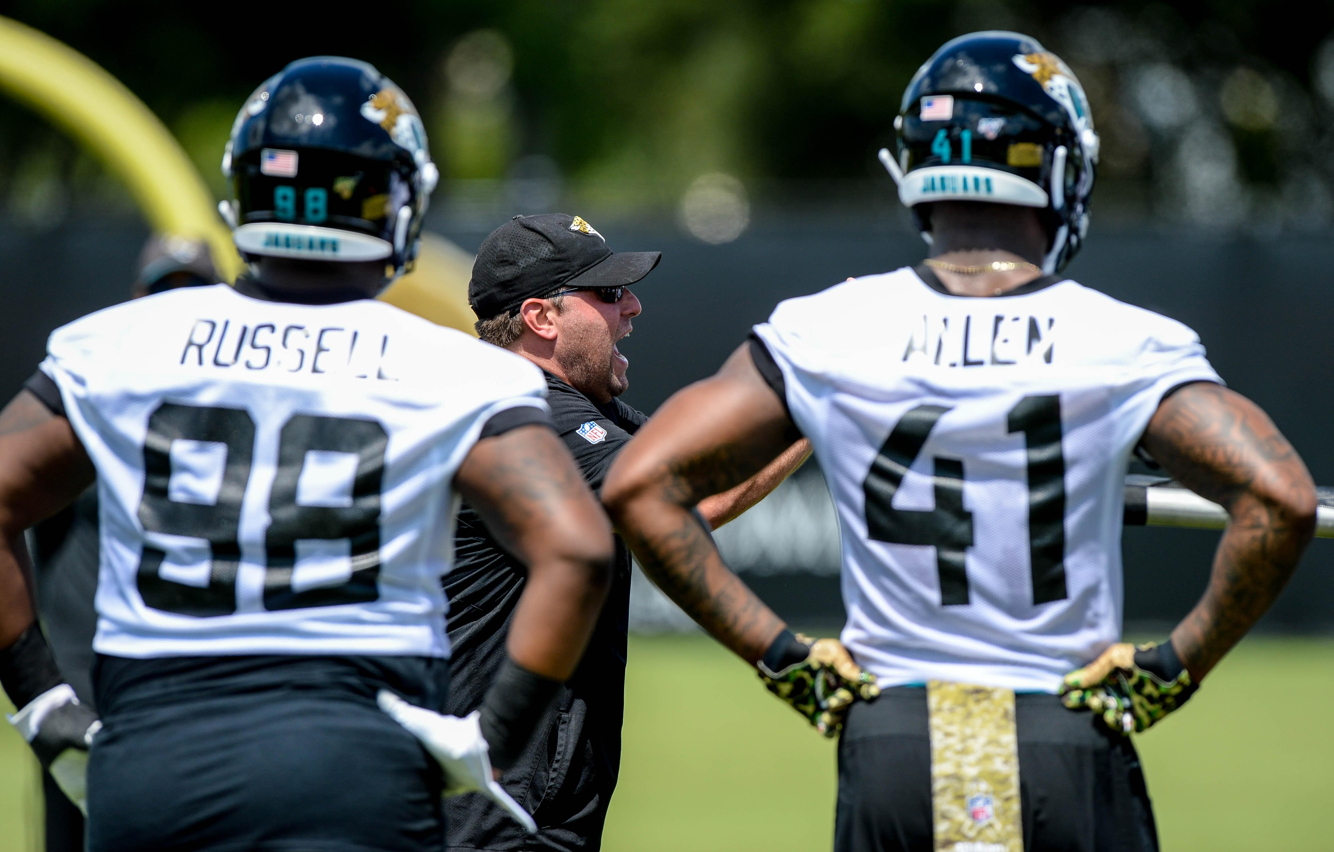 Jaguars OTA practices filled with story lines
